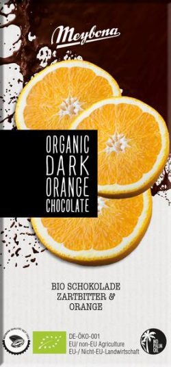 Meybona chocolade dark orange  Bio 100gr