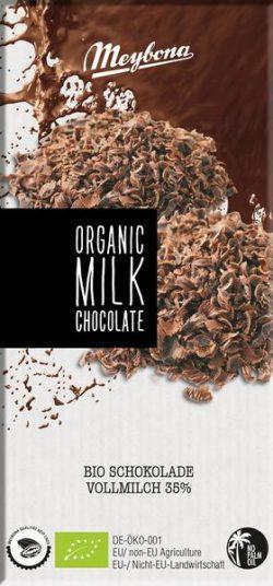 Meybona chocolade melk Bio 100gr