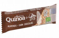 Naturecrops Quinoa Amandelen & Chocolade bar 25 gram bio