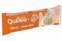 Naturecrops Quinoa Amandelen & Sesamzaad bar 25gr