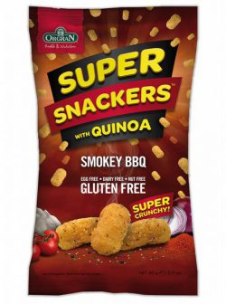 Orgran Super Snack met Quinoa Smokey BBQ