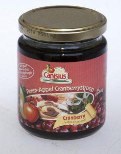 Canisius Appel-Peren Cranberrystroop 300gr