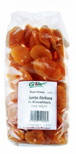 G&W ROYAL CHOICE JUMBO ABRIKOZEN 1000GR