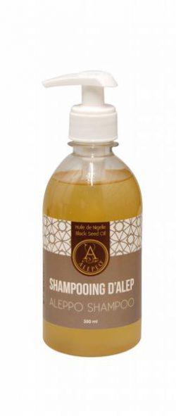 Aleppo Shampoo met zwarte komijn olie  350ml