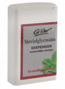 G&W Steviolglycosiden Dispencer 500 stuks