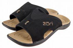 Zori slipper vaste band Zwart Maat 37 1/3 tot 38 1/3 (size 6)